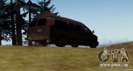 GMC Savana AWD für GTA San Andreas rechten Ansicht