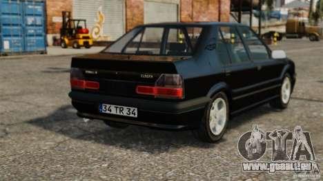 Renault 19 RL pour GTA 4 Vue arrière de la gauche