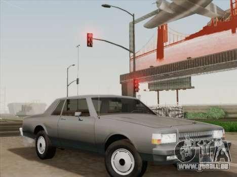 Chevrolet Caprice 1986 für GTA San Andreas Räder