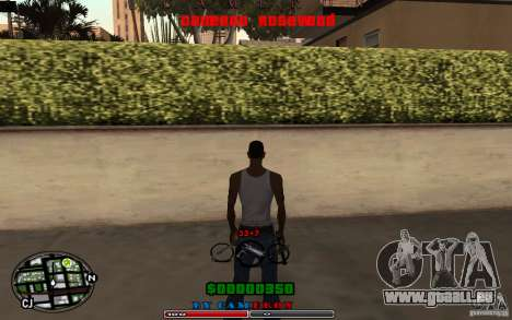 Cleo HUD by Cameron Rosewood V1.0 pour GTA San Andreas