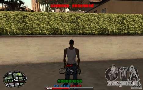 Cleo HUD by Cameron Rosewood V1.0 für GTA San Andreas