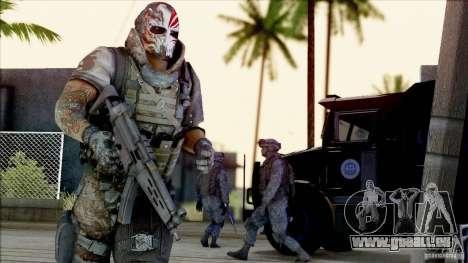 Army Of Two - Devils Cartel pour GTA San Andreas deuxième écran