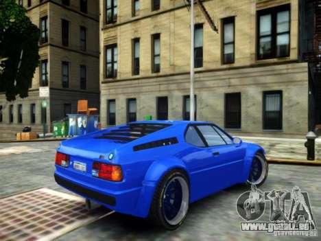 BMW M1 Replica für GTA 4 linke Ansicht