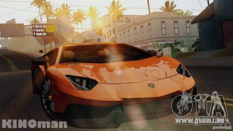 Lamborghini Aventador LP 700-4 für GTA San Andreas rechten Ansicht