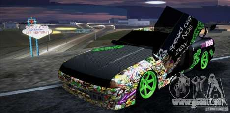 New Elegy DriftingStyleTeam für GTA San Andreas