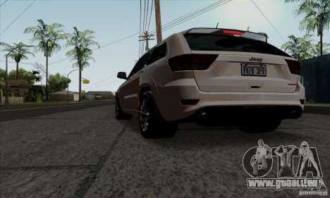 Jeep Grand Cherokee SRT-8 2013 für GTA San Andreas linke Ansicht