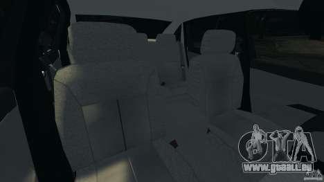 Chevrolet Impala Unmarked Detective [ELS] pour GTA 4 est une vue de l'intérieur