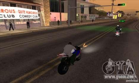 No wanted v1 pour GTA San Andreas troisième écran