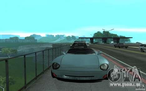 Police au pont, San Fierro pour GTA San Andreas troisième écran