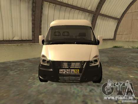 GAZ 2752 Sobol Business für GTA San Andreas rechten Ansicht