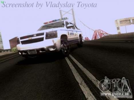 Chevrolet Avalanche 2007 pour GTA San Andreas