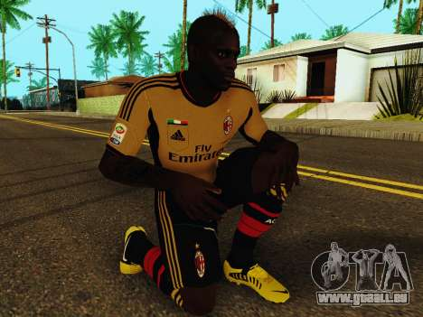 Mario Balotelli v3 für GTA San Andreas fünften Screenshot