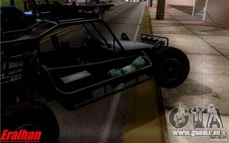 Desert Patrol Vehicle pour GTA San Andreas vue arrière