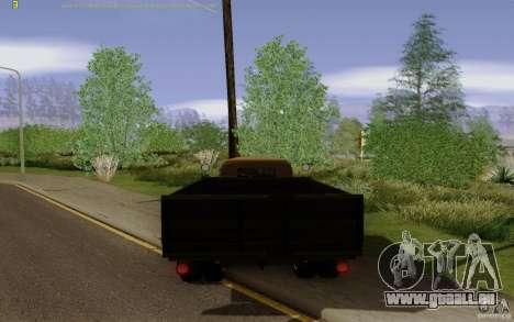 GAZ 51 pour GTA San Andreas sur la vue arrière gauche