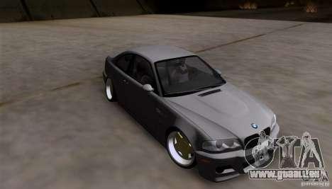BMW 3-er E46 Dope pour GTA San Andreas