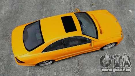 Mercedes-Benz CLK 55 AMG pour GTA 4 est un droit