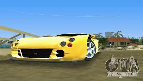 TVR Cerbera Speed 12 pour une vue GTA Vice City de la gauche