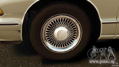 Chevrolet Caprice 1991 für GTA 4 Innenansicht