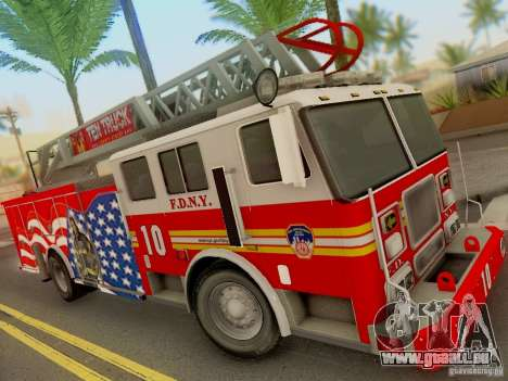 Seagrave FDNY Ladder 10 pour GTA San Andreas