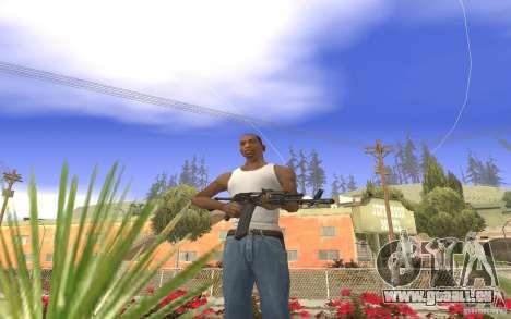 AK 101 für GTA San Andreas zweiten Screenshot