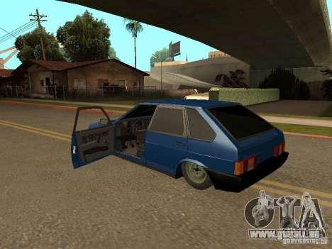 VAZ 2109 für GTA San Andreas linke Ansicht