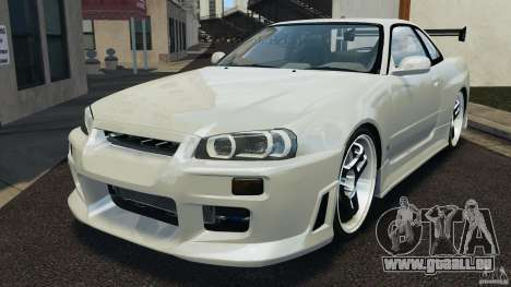 Nissan Skyline GT-R R34 pour GTA 4