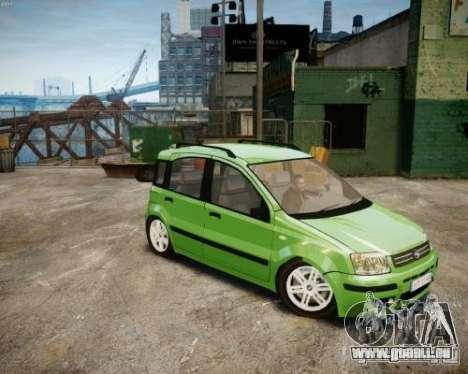 Fiat Panda 2004 v2.0 pour GTA 4