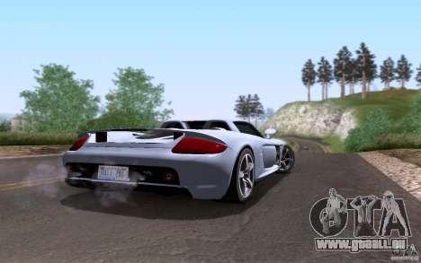 Porsche Carrera GT für GTA San Andreas Motor