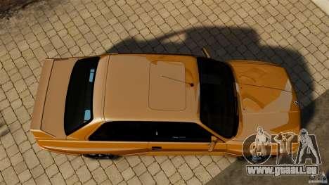 BMW M3 E30 Stock 1991 pour GTA 4 est un droit