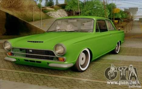 Lotus Cortina MK1 für GTA San Andreas