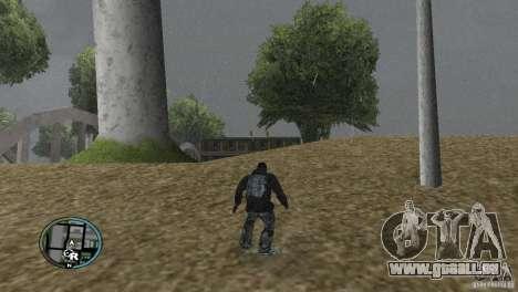 GTAIV HUD pour un grand écran (16: 9) v2 pour GTA San Andreas quatrième écran