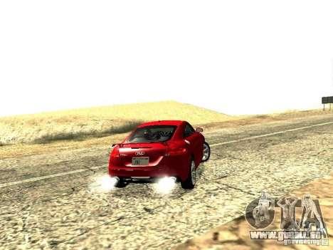 Audi TT-RS Coupe 2011 v.2.0 pour GTA San Andreas vue arrière