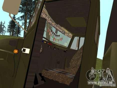ZIL 4331 für GTA San Andreas rechten Ansicht