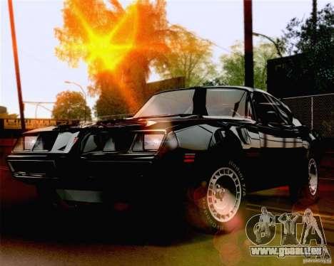 Lensflare Settings pour GTA San Andreas deuxième écran
