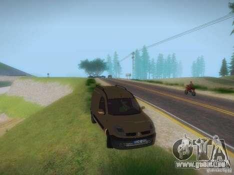 Renault Kangoo II Stock pour GTA San Andreas vue de droite