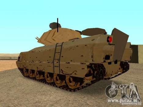 M2A3 Bradley für GTA San Andreas rechten Ansicht