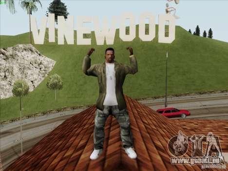 Gentleman Dance Animation für GTA San Andreas zweiten Screenshot