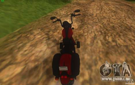 Motorcycle from Mercenaries 2 für GTA San Andreas linke Ansicht