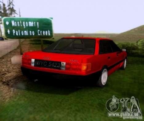 Audi 80 B3 pour GTA San Andreas sur la vue arrière gauche