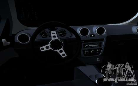 Volkswagen Golf G5 pour GTA San Andreas vue de dessus
