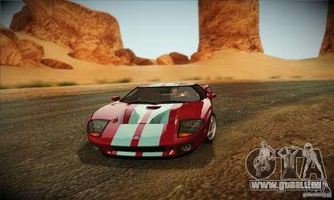 New ENB by Russkiy Sergant V1.0 pour GTA San Andreas deuxième écran