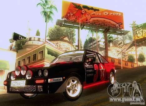 Opel Manta 400 pour GTA San Andreas moteur