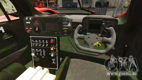 Toyota GT-One TS020 pour GTA 4 est une vue de l'intérieur