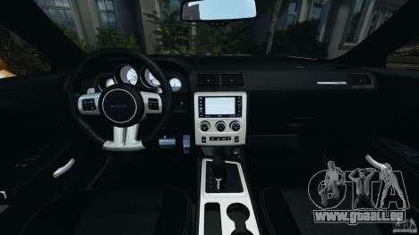 Dodge Challenger SRT8 392 2012 [EPM] pour GTA 4 Vue arrière