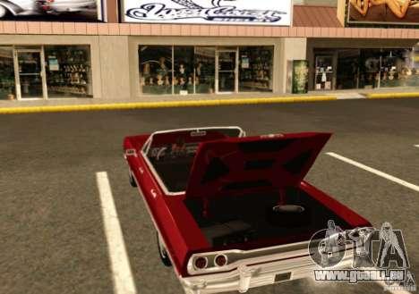 Savanna Detroit 1965 pour GTA San Andreas vue de droite