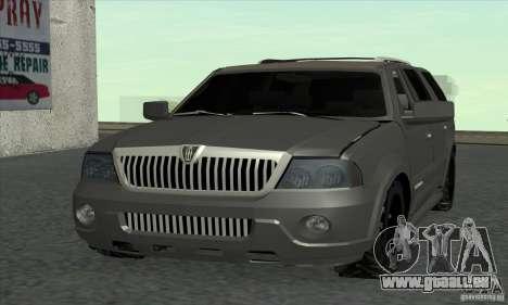 Lincoln Navigator pour GTA San Andreas
