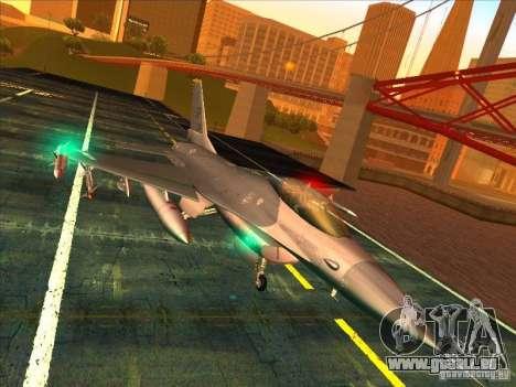 F-16C Fighting Falcon pour GTA San Andreas