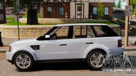 Land Rover Range Rover Sport Supercharged 2010 pour GTA 4 est une gauche