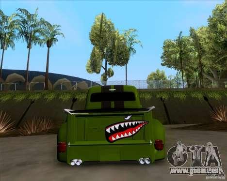 Ford FR-100 2003 pour GTA San Andreas vue intérieure