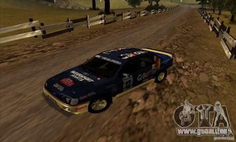 Ford Sierra RS500 Cosworth RallySport für GTA San Andreas linke Ansicht